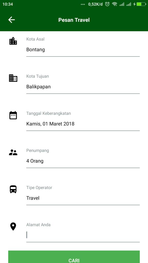 Aplikasi Ojek Online dari Tanah Kalimantan, Bontang Go