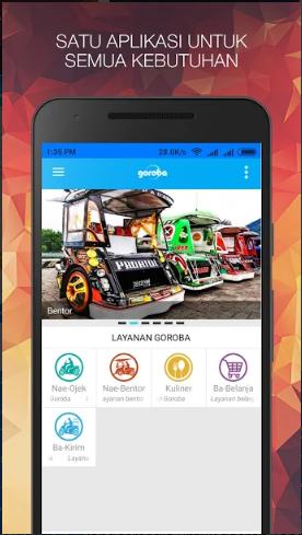 Aplikasi Ojek Online Dengan Kearifan Lokal – Goroba