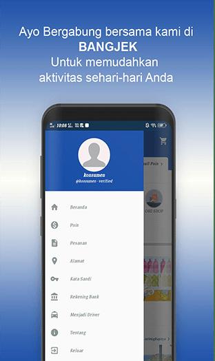 Aplikasi Ojek Online Profesional Di Pulau Sumbawa- Bangjek