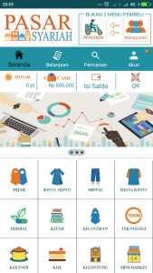 Pembuatan Toko Online Pasar Syariah