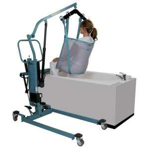 Patient lifter hoist - for bath - aks - foldo 1