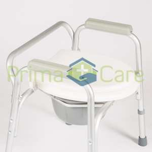 Commode - Standard - Aluminium - Close up