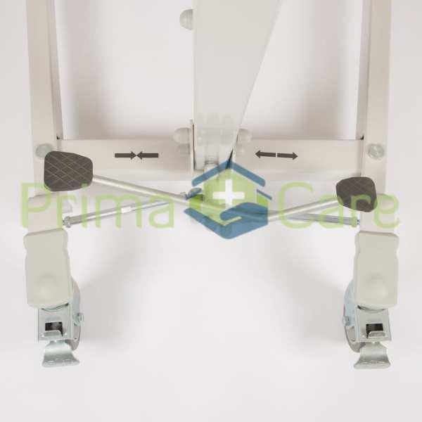Patient Lifter - Manual - Hydraulic - Adjustable leg width