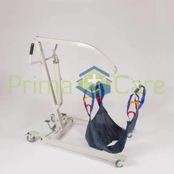 Patient Lifter - Manual - Hydraulic - Lowered position