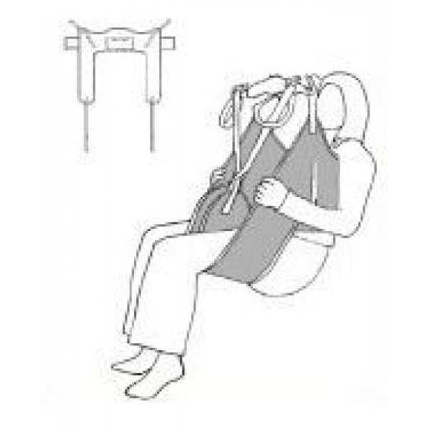 Sling - Drive Medical - Dress - Illustration