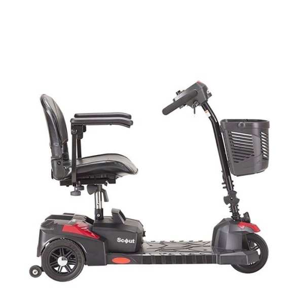 Mobility Scooter – Drive Medical - Scout - 3 Wheel - Side view