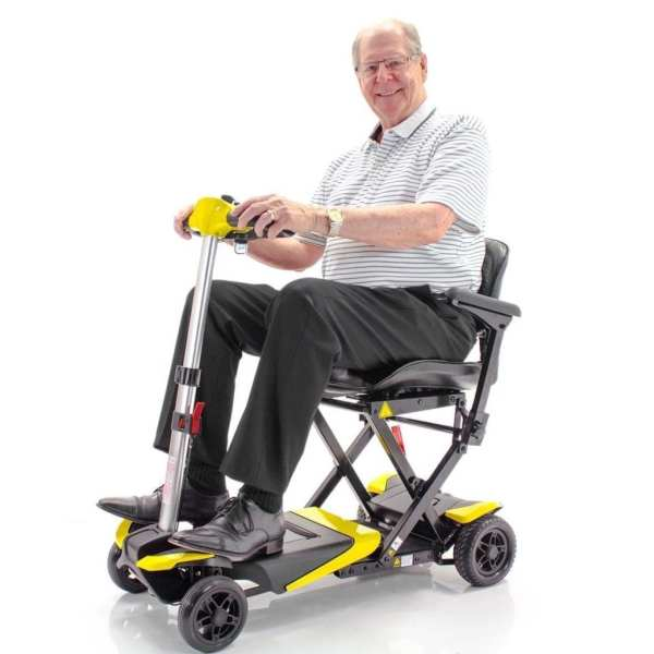 Mobility Scooter - Transformer - Automatic Folding - In useMobility Scooter - Transformer - Automatic Folding - In use