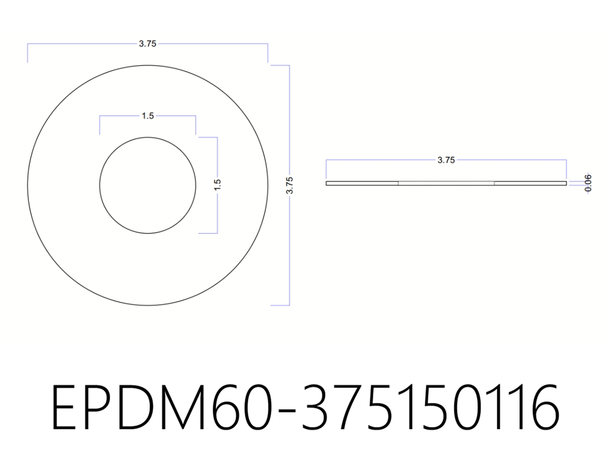 Epdm Rubber Washers