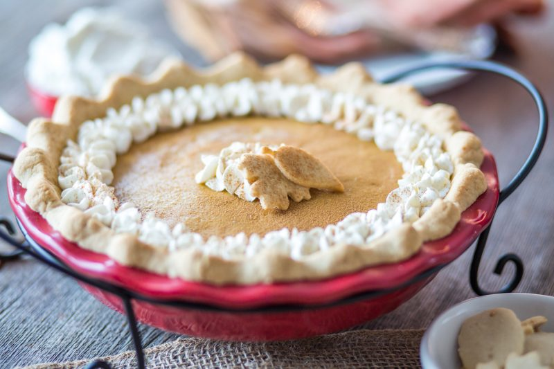 Pumpkin Chiffon Pie | Primal Palate