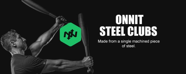 Onnit Steel Clubs