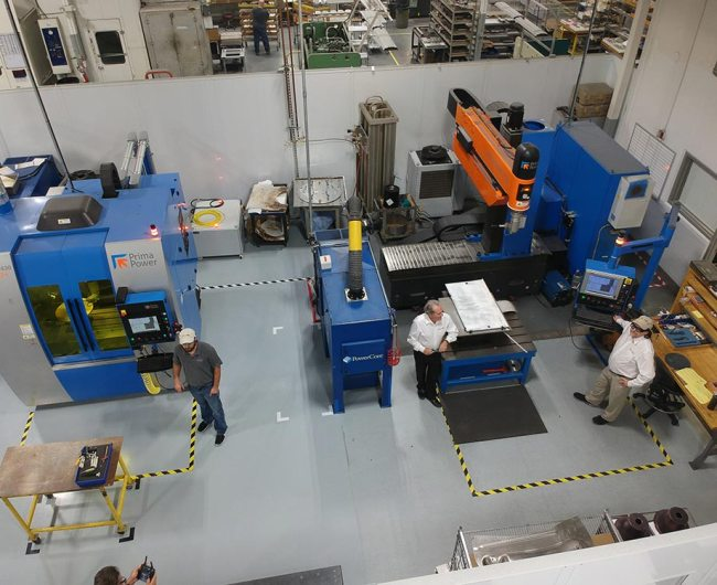 small and large capacity LASERDYNE® fiber laser systems