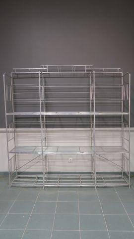 aluminium dim 205 x 197 5 x 46 cm