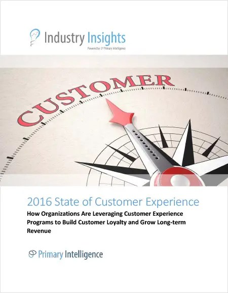 State of Customer Experience 2016
