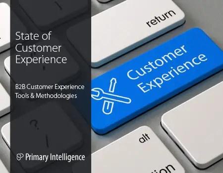 eBook: State of Customer Experience - Tools and Methodologies