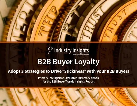 eBook: B2B Buyer Loyalty