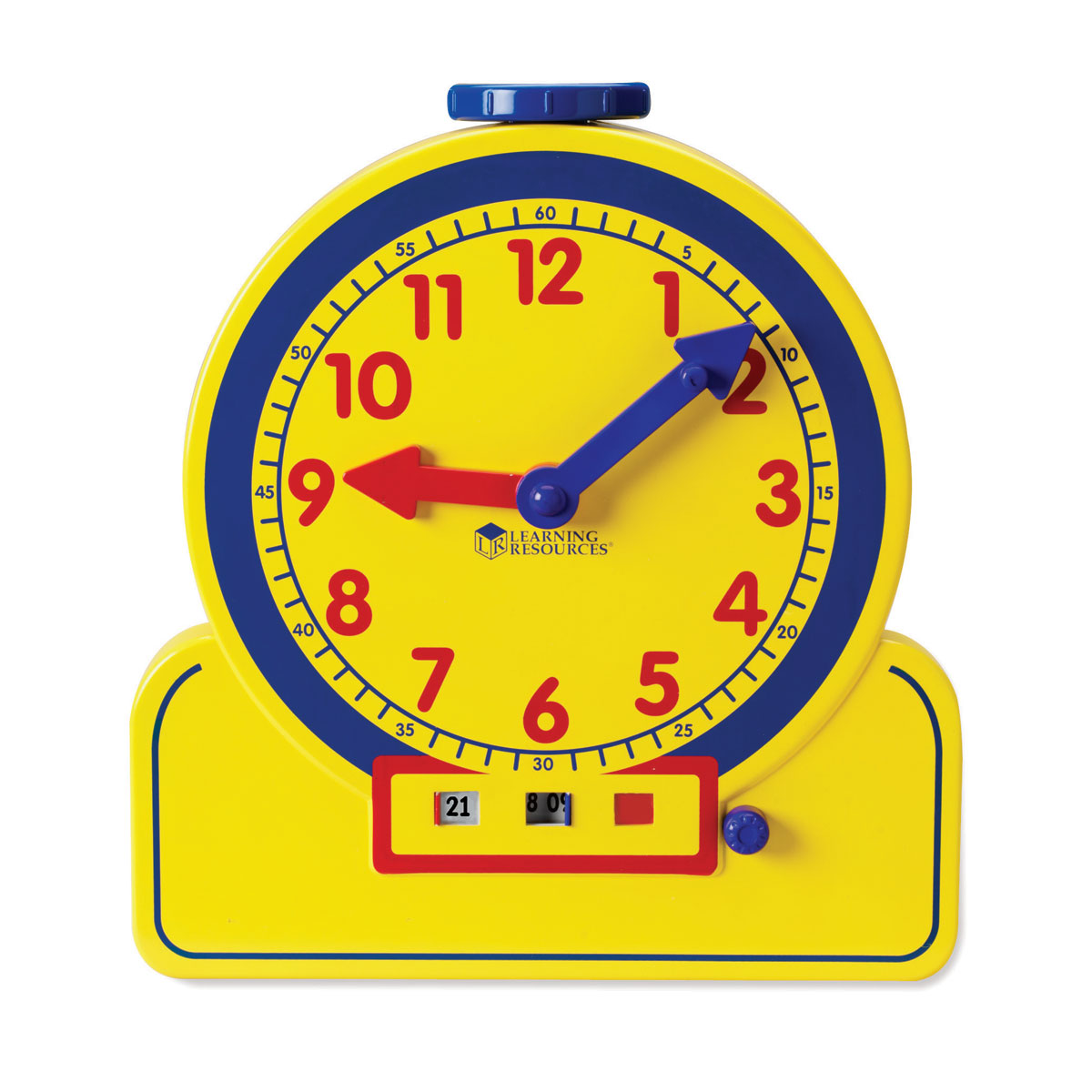 Primary Time Geared Teacher Clock 24 Hour