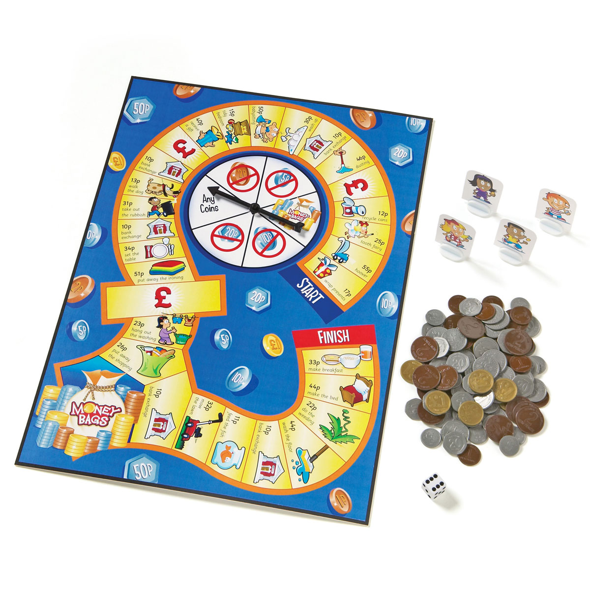 Buy School Money Bags Coin Value Game