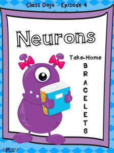 Neurons Take-Home Bracelets - Class Dojo Growth Mindset