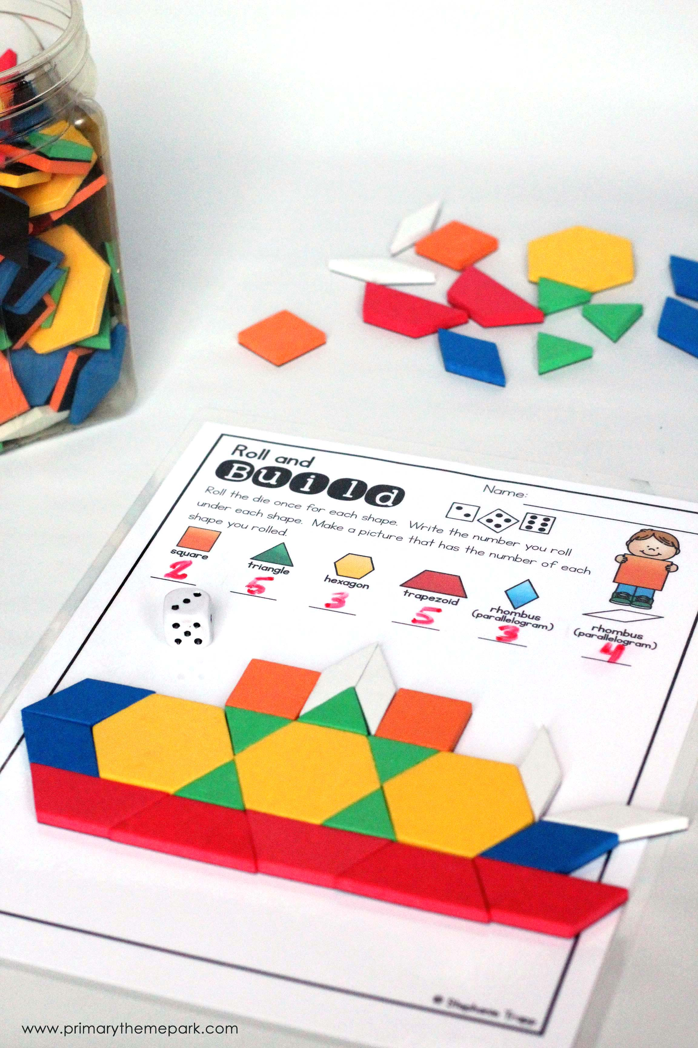 2d Shapes Activities For Kindergarten And First Grade