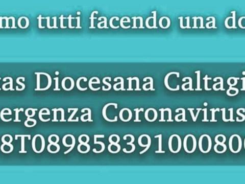 Caltagirone, Roccuzzo, aiutiamo caritas diocesana