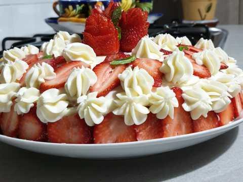 ricette veloci, torta happy Francesca