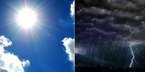 Meteo Sicilia, bel tempo e maltempo