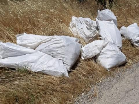 Caltagirone, rifiuti pericolosi abbandonati per strada