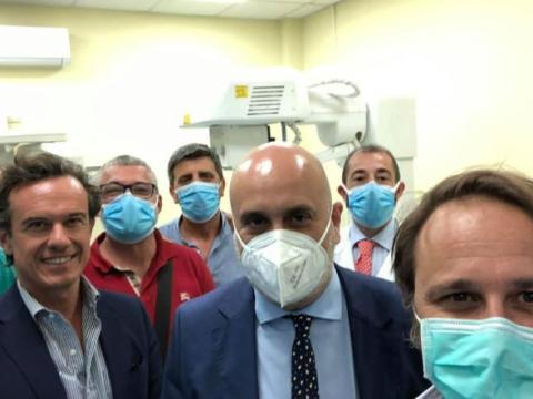 Niscemi, inaugurazione reparto Lungodegenza all'ospedale Suor Cecilia Basarocco