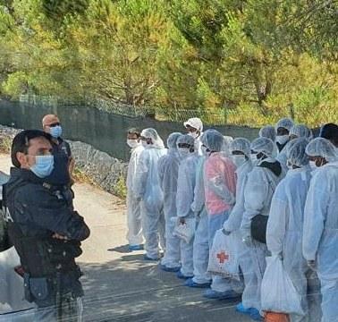 Comiso, migranti evadono dalla struttura di accoglienza di contrada Cifali