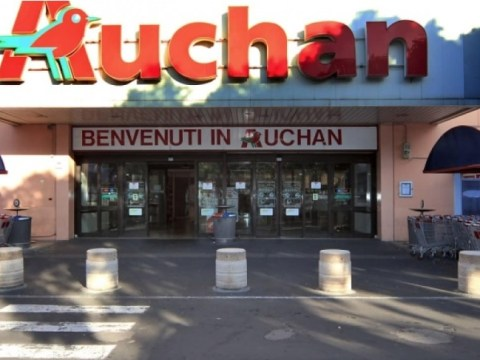 dipendente Auchan positivo al coronavirus, Misterbianco