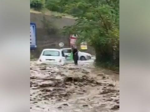 Messina video nubifragio piogge