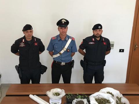 arresto Jonny Vinci, carabinieri Marsala