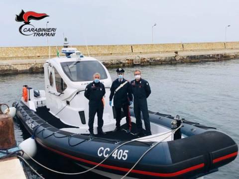 carabinieri a mare Trapani