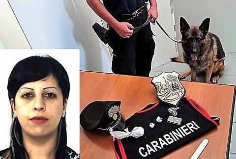 ULTIM'ORA CALTAGIRONE - Giovane ragazza beccata con la cocaina nascosta negli slip, arrestata Marta Saporito