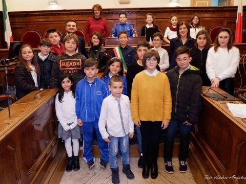 Foto Consiglio comunale dei Ragazzi dicembre 2019