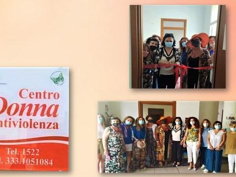 Comiso, inaugurazione della nuova sede comunale del Centro Donna Antiviolenza.