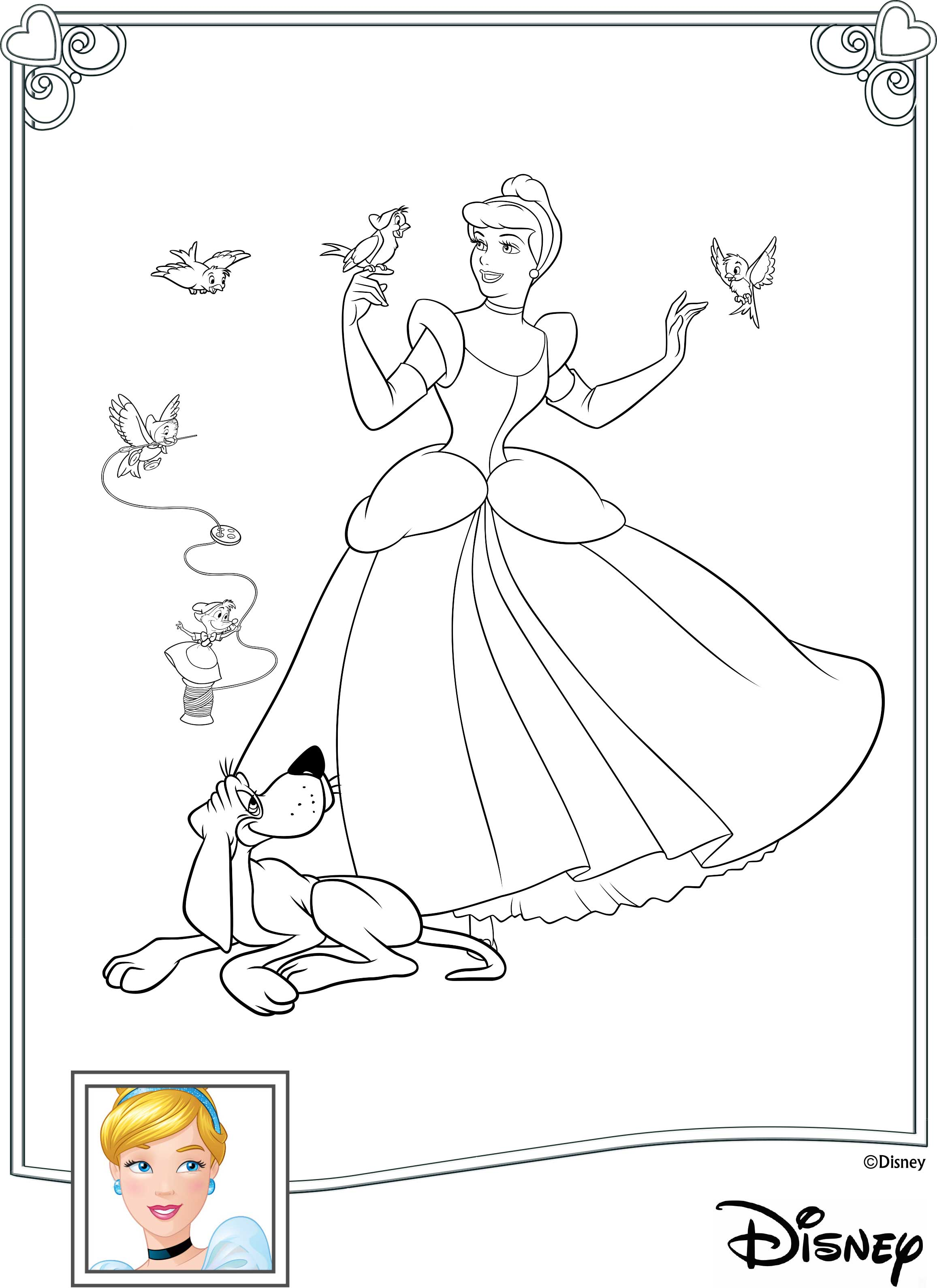 Download Fun Activities And Color Ins To Print Out And Play With Disney Princess