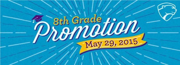 Middle School News: 2015 8th Grade Promotion Ceremony ...
