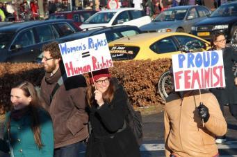 vrouwen demo den haag 024