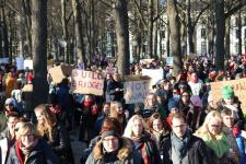 vrouwen demo den haag 037