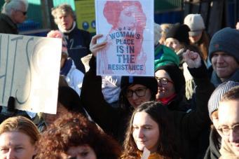 vrouwen demo den haag 048