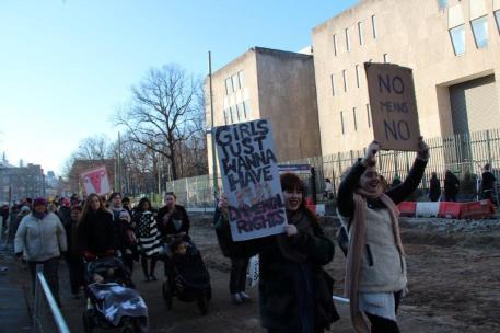 vrouwen demo den haag 062