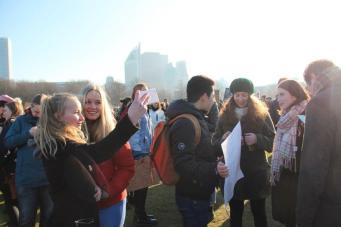 vrouwen demo den haag 066