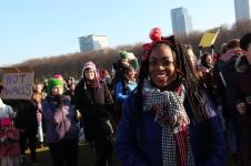 vrouwen demo den haag 075