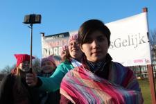 vrouwen demo den haag 084