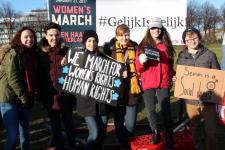 vrouwen demo den haag 091