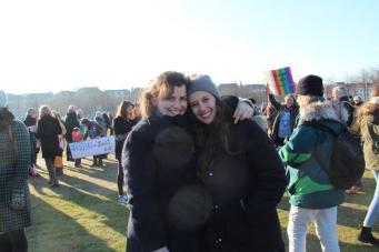 vrouwen demo den haag 092