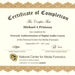 Forensic Audio Authentication Mike Primeau