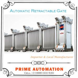 Automatic Collapsible Retractable Gate
