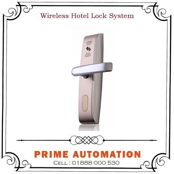 Digital Wireless Hotel Door Lock.